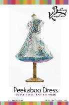 Peekaboo Party Dress with full tulle petticoat